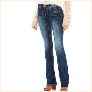 Miss Me Metalwork Embellished Bootcut Jeans